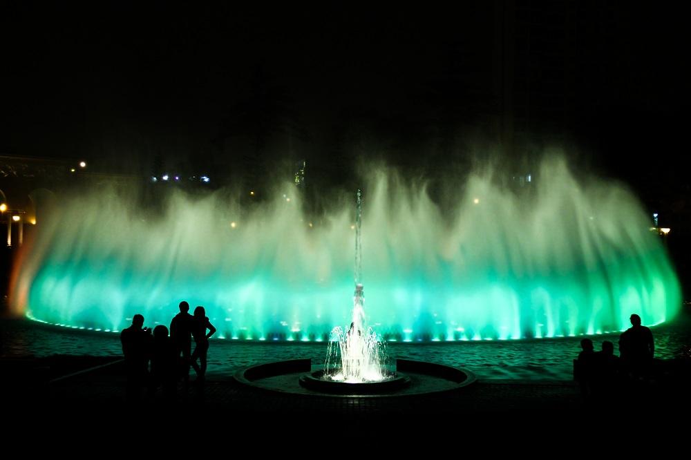Parque de las Aguas Lima Peru