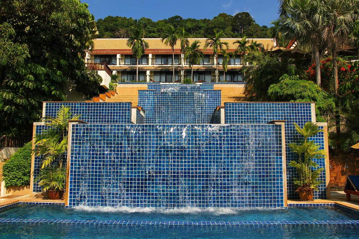 resort piscina