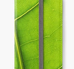 iphone wallets green leaf eco background