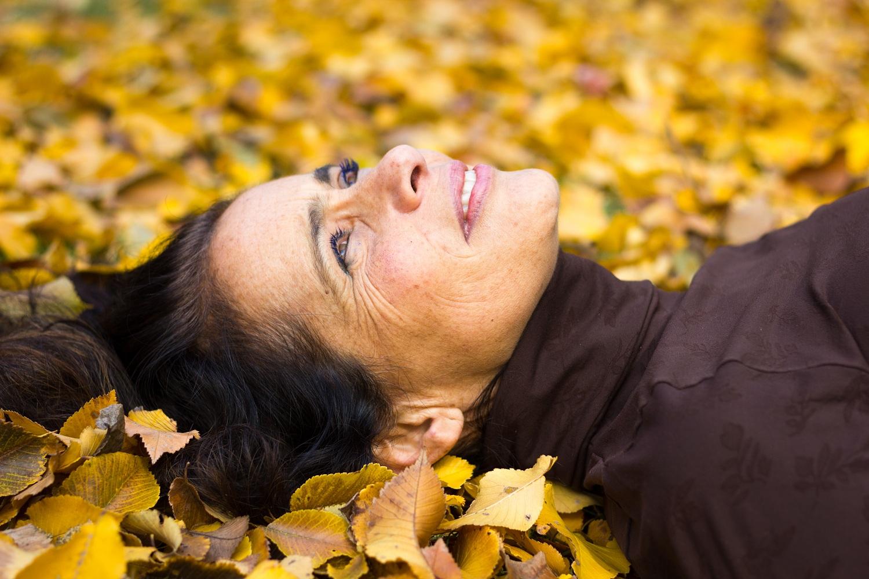 autumn season photo session