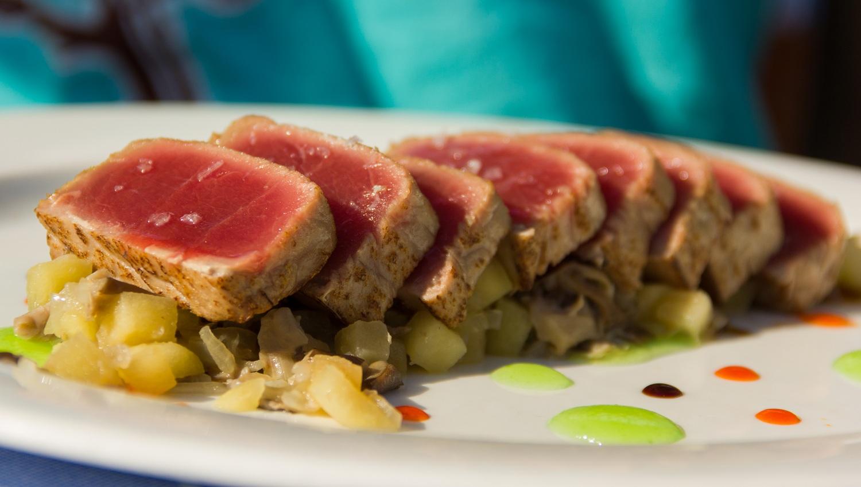 food photography red tuna