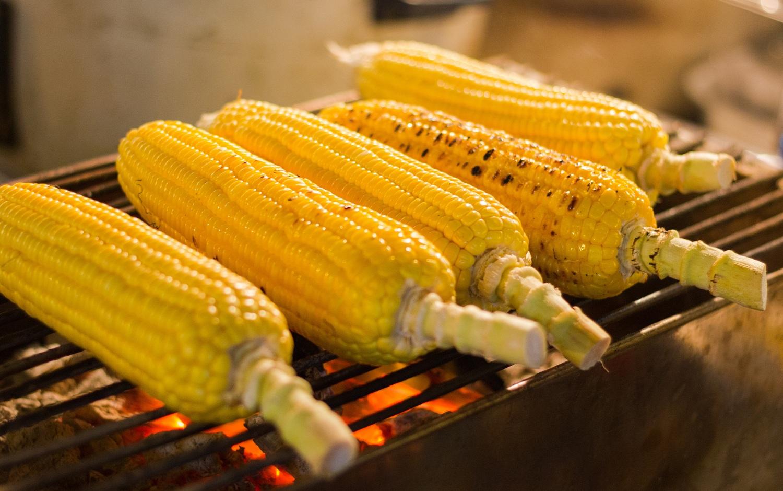 corn food photography