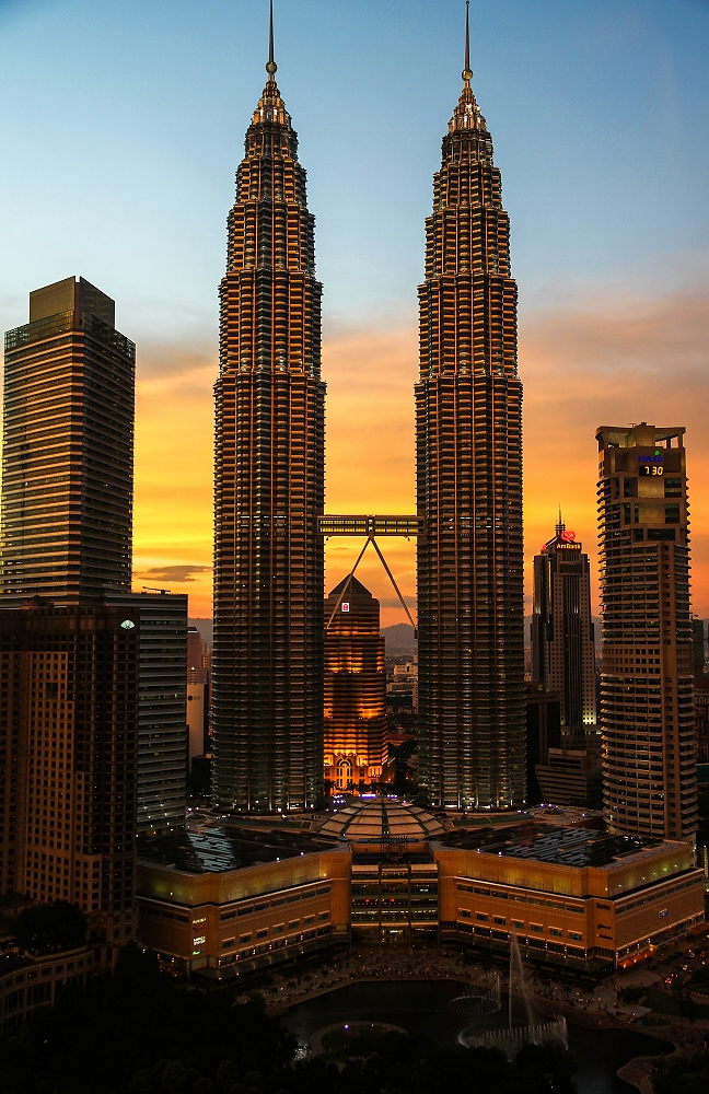 Kuala Lumpur Malaysia Twin Towers