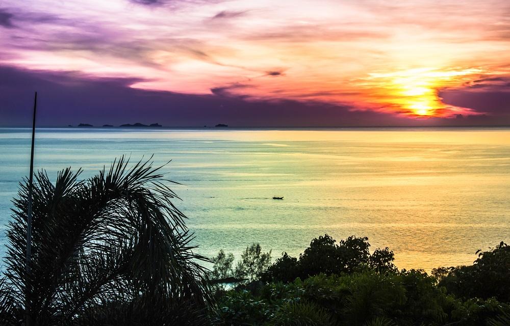 sunset nature landscape photography