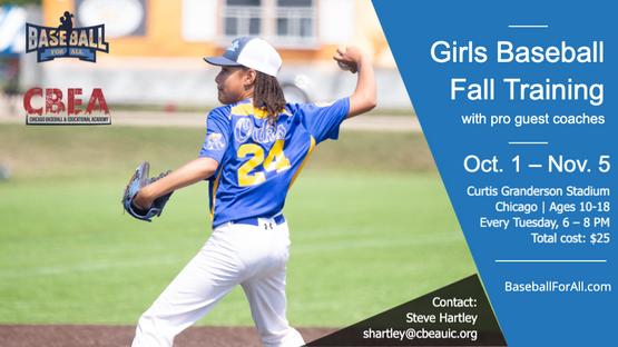 Girls Baseball Games & Opportunities   Baseball For All