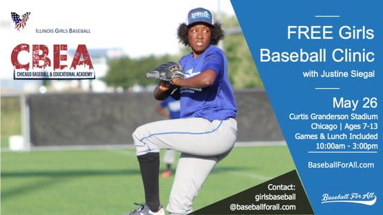 Girls Baseball Games & Opportunities | Baseball For All