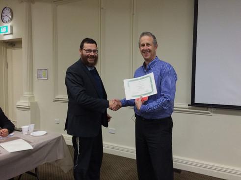 RCV Rabbis and Rebbetzins undertake Leadership Training Course