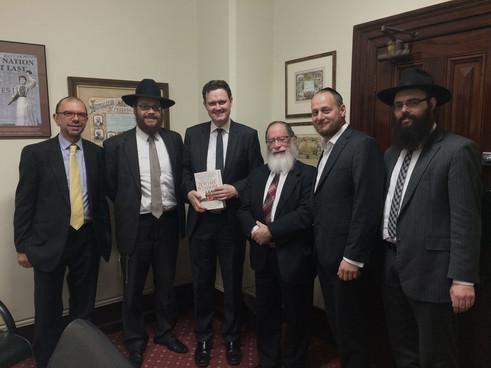RCV meets with Minister Scott