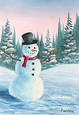 Snowman E-Packet