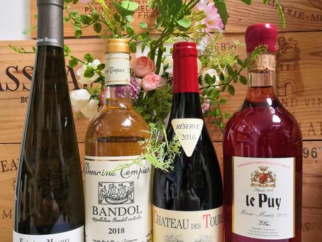 Nos 4 vins à déguster pour le Printemps