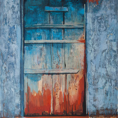 Голубая дверь №4