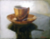 Coffee 05, 40x50, 2006, oil on canvas