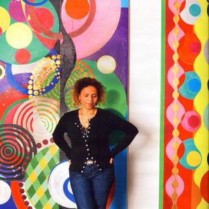 Beatrix Milhazes  1960-    Brazil