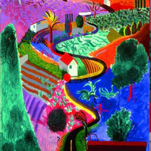 David Hockney     1937-      England / US