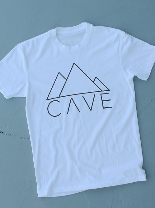 LARGE CAVE CREW NECK ( FRONT)