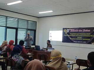Kolaborasi Pusat Inkubasi Bisnis dan Inovasi (PIBI) Universitas Borobudur dengan Brum.id