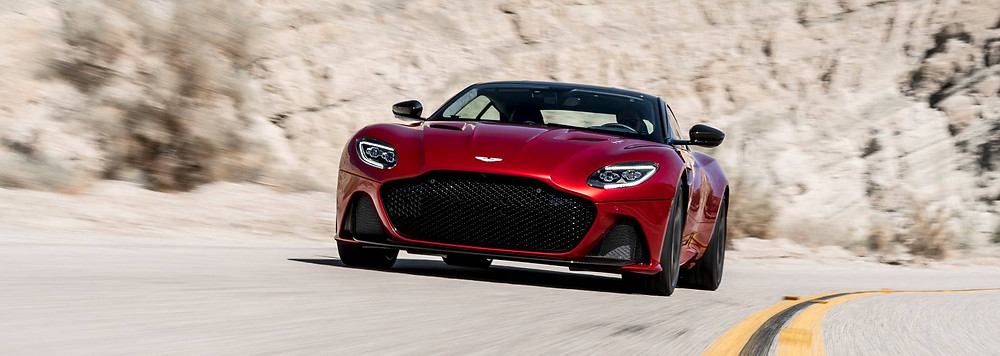 Red DBS Superleggera. Image Source : astonmartin.com