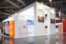 stand Siemens Healthineers diseño volum studio