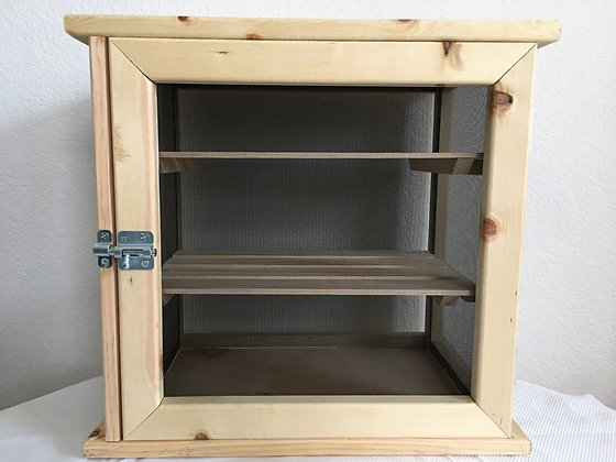 Fruit Cabinet - Knotty Pine Wood