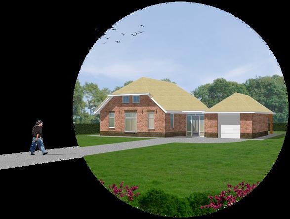 Photoshop nieuwbouwwoning - Zwartebroek