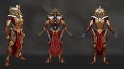 Female Sentinel Orthographics