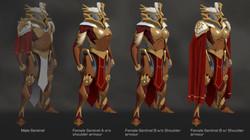 Female Sentinel Variations
