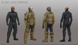 Powered Light Armour
