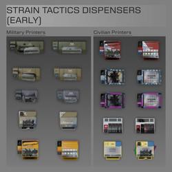 Strain Tactics Dispensers
