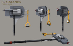 Brasslands Pilehammer Weapon Design