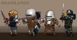 """""""Brasslands Character lineup"""""""