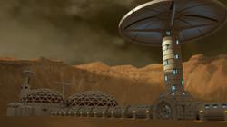 Mars Base Environment