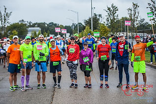 Key Sports pace team volunteers for the Dayton River Corridor Classic in Dayton Ohio
