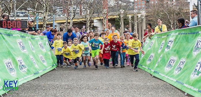 Key Sports kids fun run in Cincinnati Ohio