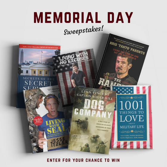 """Sweepstakes for """"Secrets of the Secret Service"""" and other Great Books! #MemorialDayReads"""