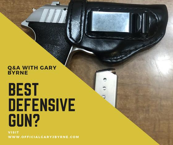 FAN QUESTION: Best Handgun for EDC?