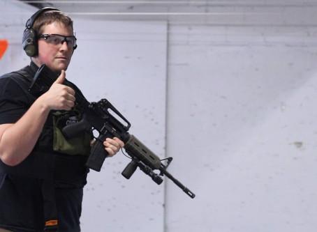 Throwback: Firing Rate, AR15's VS. Revolvers??