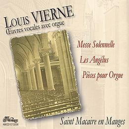 Louis Vierne - Oeuvres vocales avec orgue