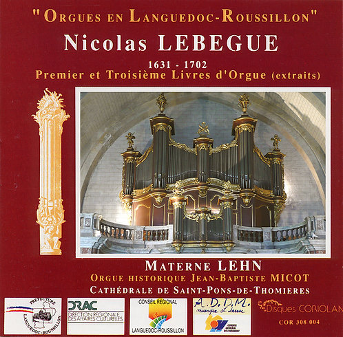 Materne Lehn - Orgue de la Cathédrale de St Pons de Thomières