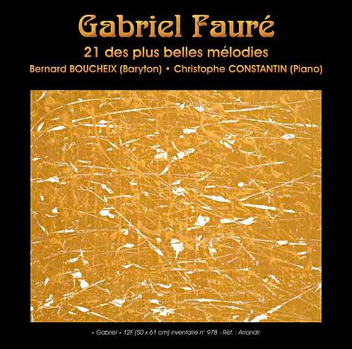 21 des plus belles mélodies de G.Fauré