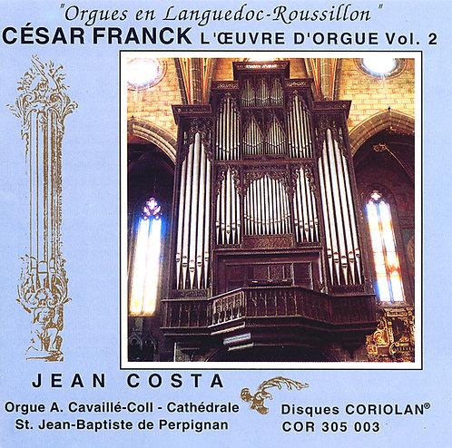Jean Costa - Orgue de la Cathédrale de Perpignan