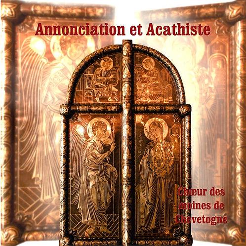 Annonciation et Acathiste