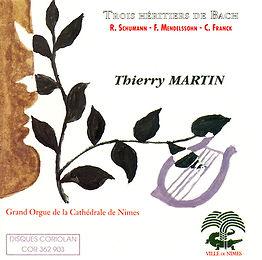 Thierry Martin - Trois héritiers de Bach - Orgue de Nimes