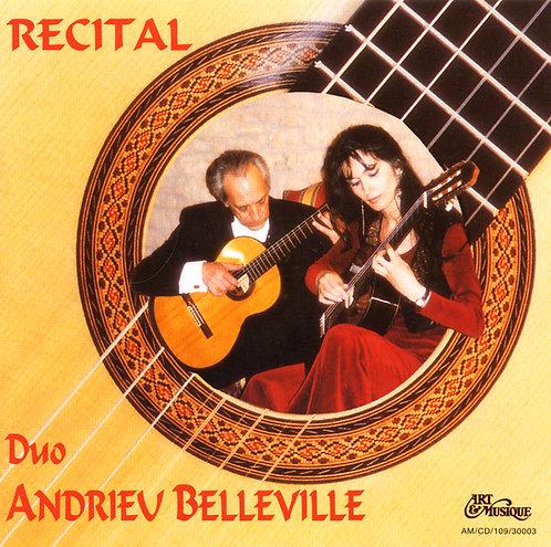 Récital en duo de guitares