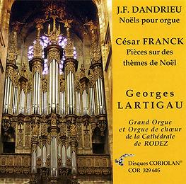 Georges Lartigau - Noëls pour Orgue - Cathédrale de Rodez