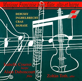 Musique Française pour flûte alto et harpe