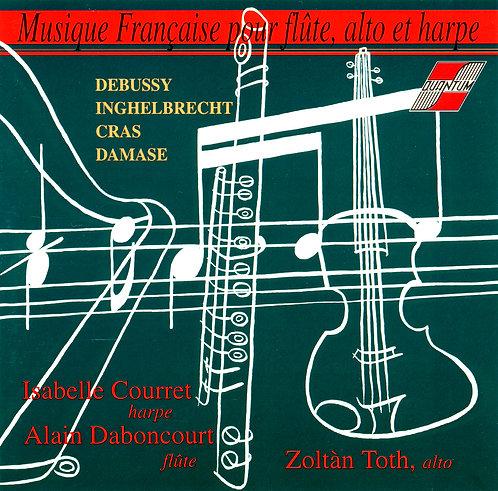 Musique Française pour flûte, alto et harpe