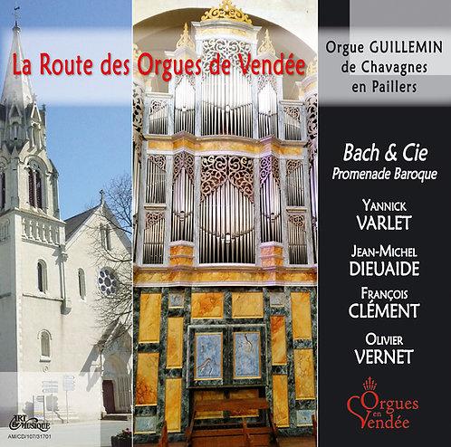 Bach et Compagnie - Orgue de Chavagnes en Paillers (85)