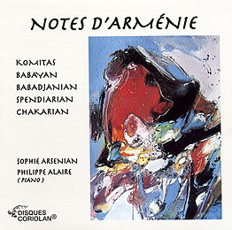 Notes d'Arménie - Sophie Arsenian Piano
