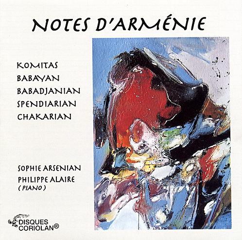 Piano - Notes d'Arménie