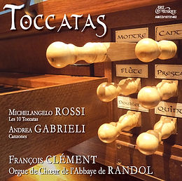 """Orgue : """"Toccatas"""" - F. Clément"""